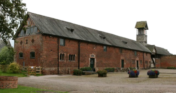 Arley Hall Tudor Barn
